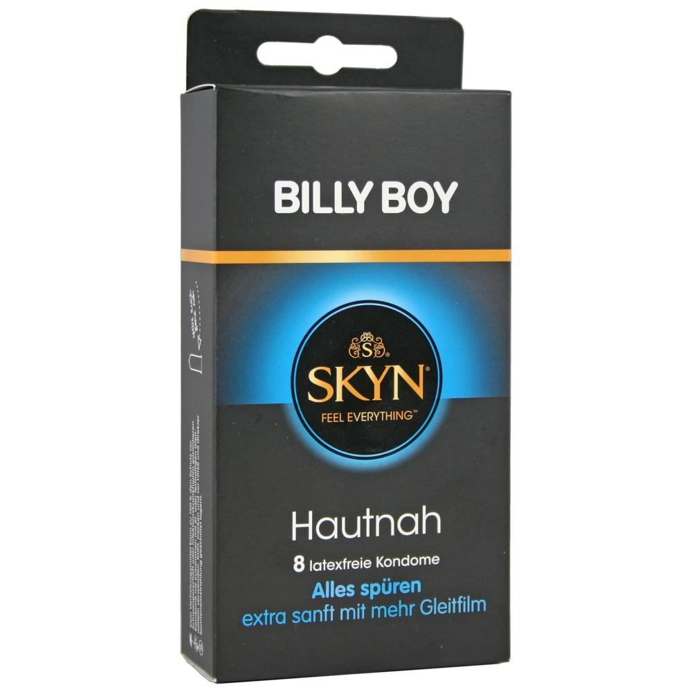Frei Haus: Billy Boy Kondome SKYN Hautnah - latexfrei Kondome versch zur Auswahl 8er Packung Feucht