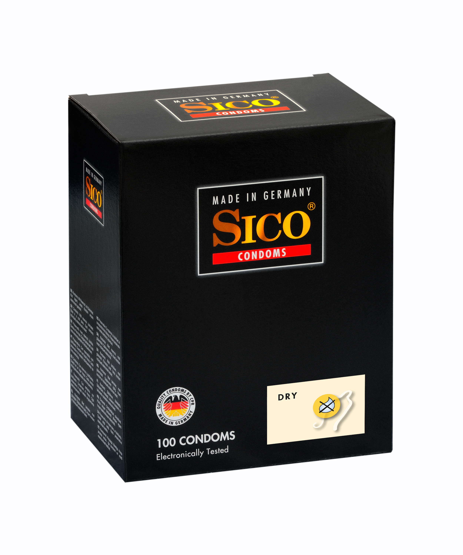 100 SICO Kondome verschiedene Sorten, Größen sowie Farbe & Aroma Markenkondome 100 SICO Dry Kondome