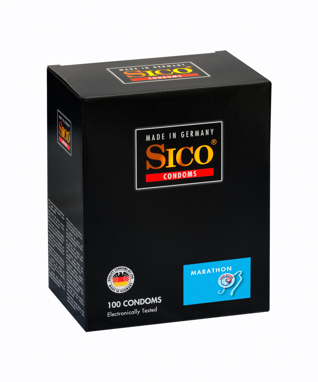 100 SICO Kondome verschiedene Sorten, Größen sowie Farbe & Aroma Markenkondome 100 SICO Marathon Kondome