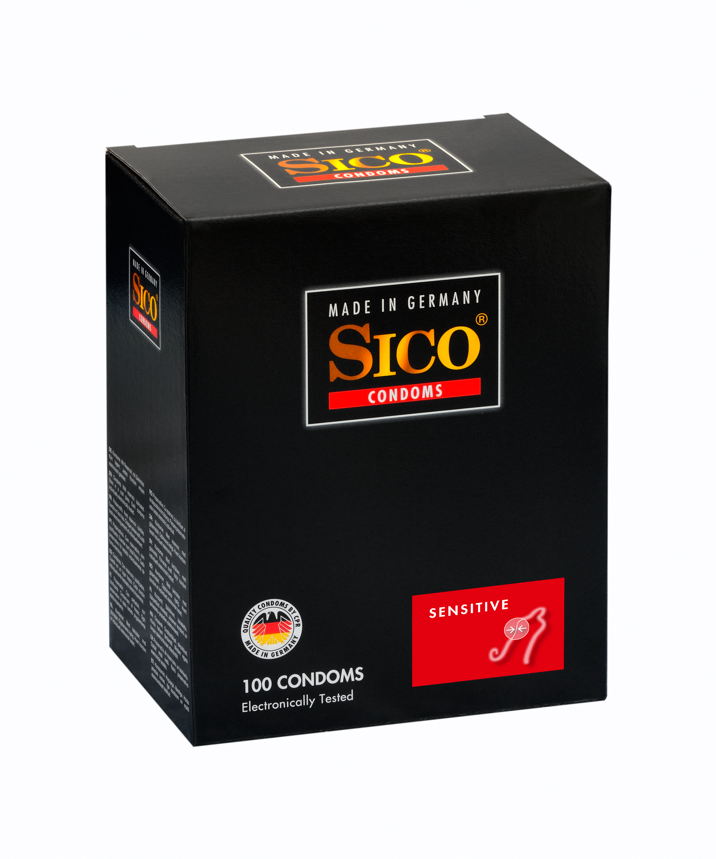 100 SICO Kondome verschiedene Sorten, Größen sowie Farbe & Aroma Markenkondome 100 SICO Sensitive Kondome
